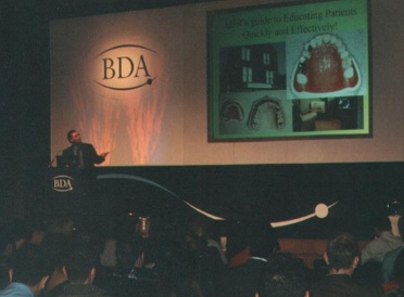 Tony Lecturing at National BDA Conference