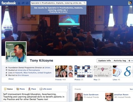 A quick 1 minute tour of Dr Kilcoyne's extensive Facebook pages...