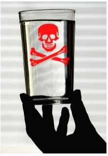 Fluoride Poison images used to frighten Public opinion into doing nothing