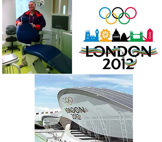 Tony Kilcoyne working at the Olympic village 2012