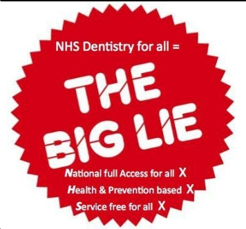The Big Lie about NHS Dentistry in England revealed - click image